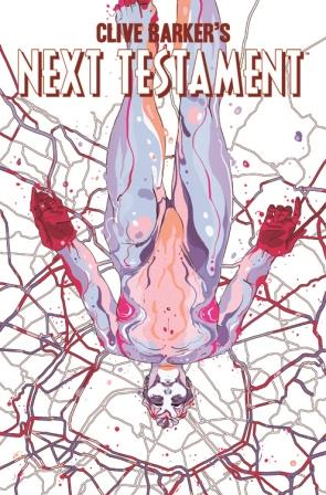 Clive Barker - Next Testament Issue 8, A cover art by Goni Montes