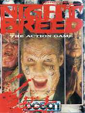 Clive Barker - Nightbreed - cover artwork