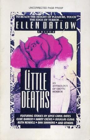 Little Deaths - US paperback proof