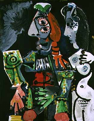Picasso - Matador and Nude Woman, 1970