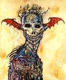 Clive Barker - Rue Morgue's Death's Head