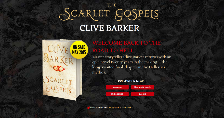 Scarlet Gospels - St Martin's Press