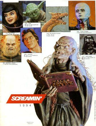 Screamin' - 1994 Catalogue