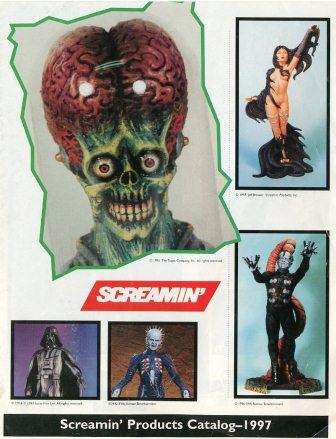 Screamin' - 1997 Catalogue