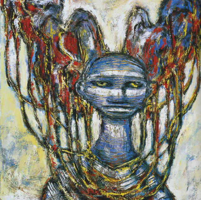 Clive Barker - Seamstress With Headdress