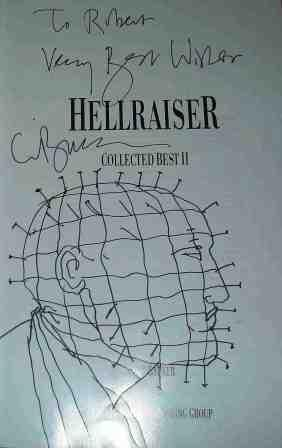 Clive Barker - Hellraiser Collected Best 2, US