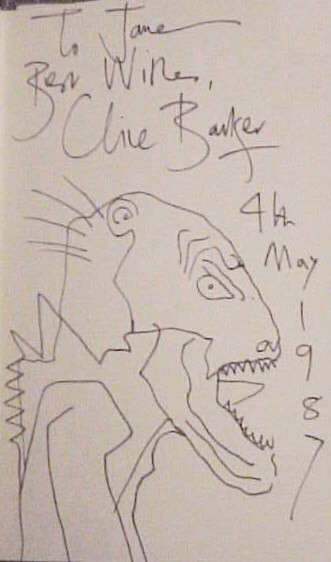 Clive Barker - In The Flesh