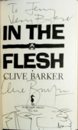 Clive Barker - In The Flesh, US