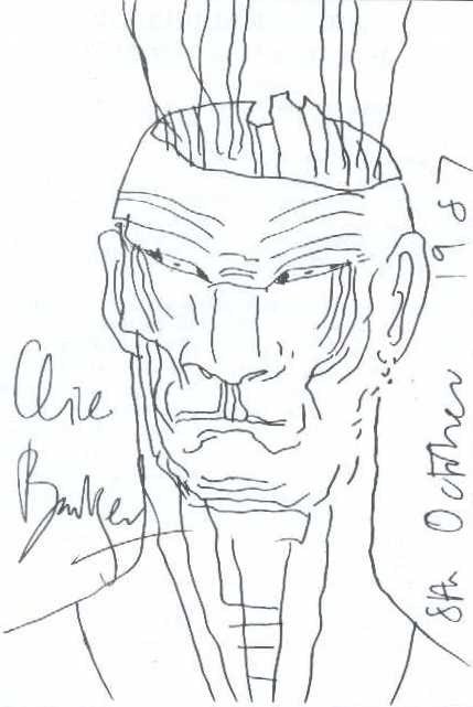 Clive Barker - unknown