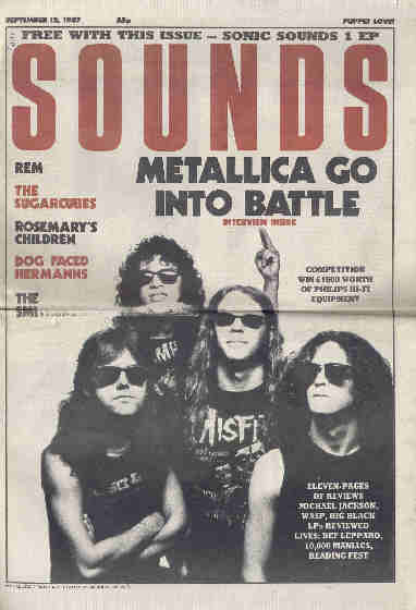 Sounds, 12 September 1987