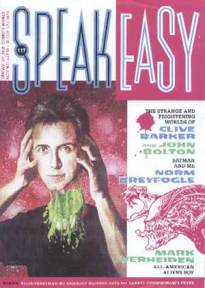 Speakeasy, No 117, February 1991