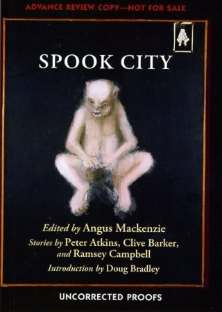Spook City - UK Paperback Proof