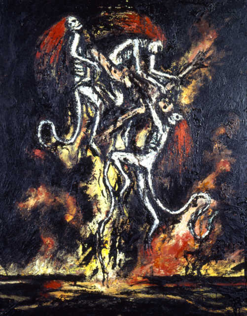 Clive Barker - The Temptation Of St Anthony