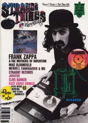 Strange Things Are Happening, Volume 1 No 5, April - May 1989