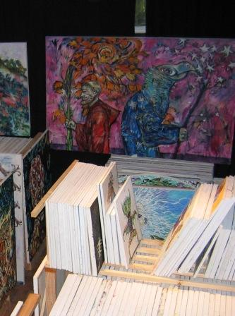 Clive Barker - The Studio - April 2009
