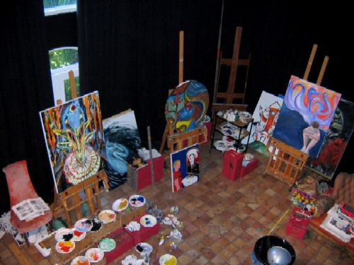 Clive Barker - The Studio - August 2006