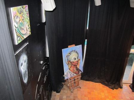 Clive Barker - The Studio - July 2012