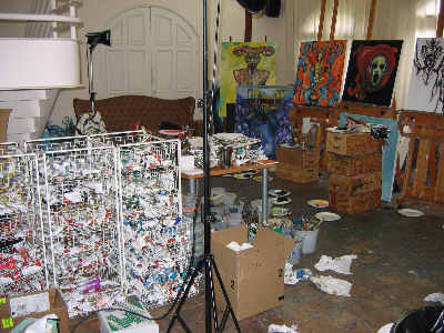 Clive Barker - The Studio - March 2006
