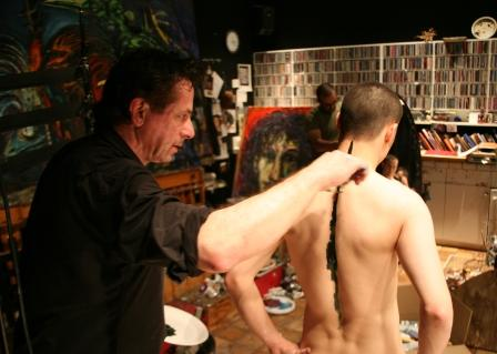 Clive Barker - In The Studio - 19 May 2007