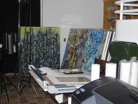 Clive Barker - The Studio - November 2014