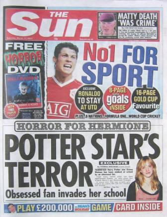 The Sun - 17 March 2007