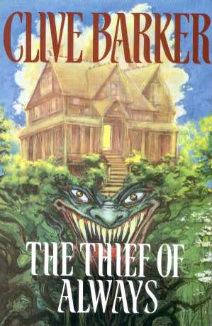 Clive Barker - Thief Of Always - UK ARC