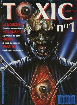 Toxic, No 1, April 1989