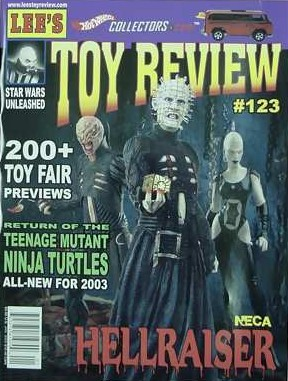 Toy Review - No 123, January 2003