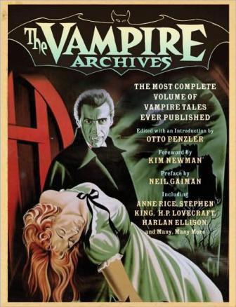 The Vampire Archives, Quercus Publishing, 2009