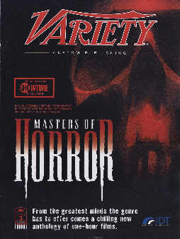 Masters Of Horror insert, Daily Variety, 13 July 2005
