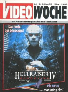 Video Woche, October 1996