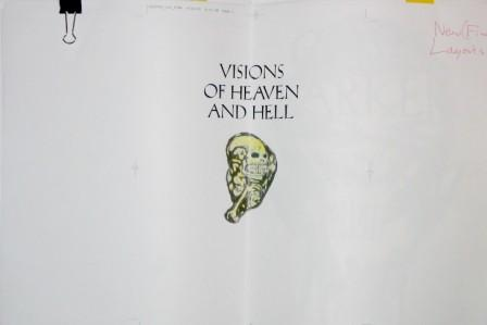 Clive Barker - Visions - proof pages