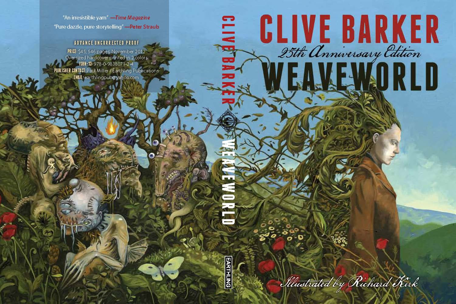Weaveworld - 25th Anniversary edition (art - Richard Kirk)