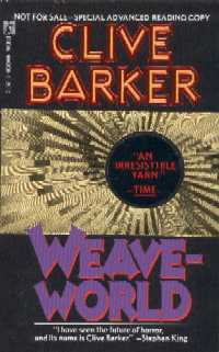 Clive Barker - Weaveworld - US ARC (corrected spelling)