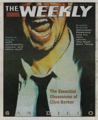 The Weekly, San Diego - 3-9 March 2000