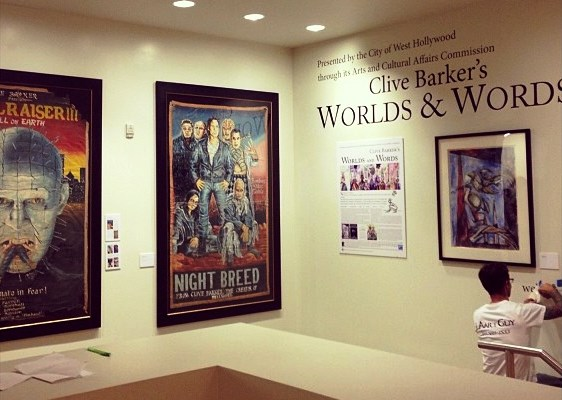Clive Barker at the West Hollywood Library