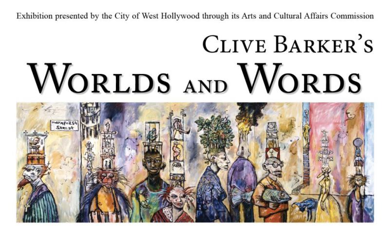 Clive Barker - Worlds and Words Exhibition