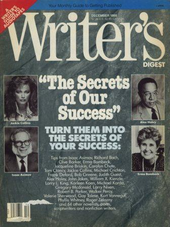 Writer's Digest, Vol 68 No 12, December 1988