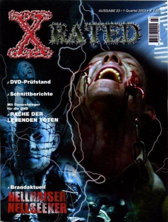 X-Rated - No 23, 1st Quarter 2003